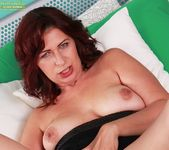 Laila Fereschte - mature playing with a dildo 9