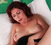Laila Fereschte - mature playing with a dildo 18