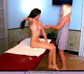 Young Naked Massage - Claire - All Girl Nude Massage 13