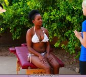 Nubian Nude Massage - Alli - All Girl Nude Massage 2