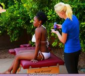 Nubian Nude Massage - Alli - All Girl Nude Massage 3