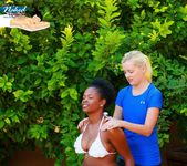 Nubian Nude Massage - Alli - All Girl Nude Massage 4