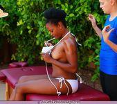 Nubian Nude Massage - Alli - All Girl Nude Massage 7