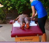 Nubian Nude Massage - Alli - All Girl Nude Massage 12