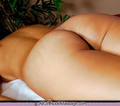 Breasts and Oil - Sarah - All Girl Nude Massage 6