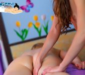 Lesbian Happy Ending - Summer Carter - All Girl Nude Massage 7
