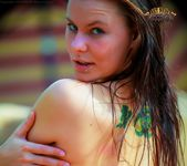 Lawn Chair Nudes - Sasha - Art Nude Tattoos 14