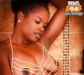 Shiny Wet - Alli - Big Boob Worship 9