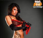 Pierced Nipples - Brianna - Big Boob Worship 11