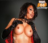 Pierced Nipples - Brianna - Big Boob Worship 14