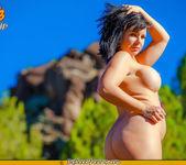 Sunning my Tits - Ashlynn - Big Boob Worship 10