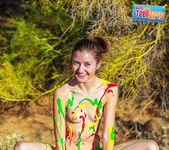 Painted Me - Claire - Happy Naked Teen Girls 3