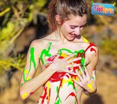 Painted Me - Claire - Happy Naked Teen Girls 5