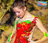 Painted Me - Claire - Happy Naked Teen Girls 6
