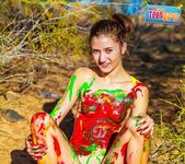 Painted Me - Claire - Happy Naked Teen Girls 9
