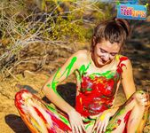 Painted Me - Claire - Happy Naked Teen Girls 10