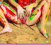 Painted Me - Claire - Happy Naked Teen Girls 11
