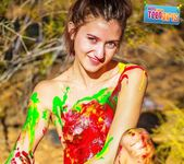 Painted Me - Claire - Happy Naked Teen Girls 13