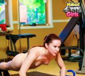 Really Working It - Annabelle Lee - Naked Gym Girls 6