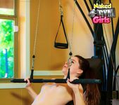 Really Working It - Annabelle Lee - Naked Gym Girls 11