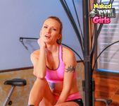 Nude Gym & Boxing - Alina Lubov - Naked Gym Girls 3