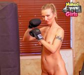 Nude Gym & Boxing - Alina Lubov - Naked Gym Girls 11