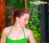 Showering in Nature - Annabelle Lee - Sweet Nature Nudes 3