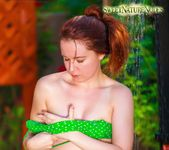 Showering in Nature - Annabelle Lee - Sweet Nature Nudes 5