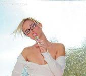 Kara Duhe - White Glasses 13