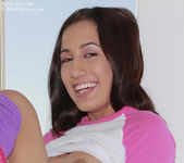Amia Moretti - Pink Socks 4