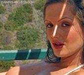 Sandra Shine - White Bikini 4