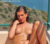 Sandra Shine - White Bikini 6