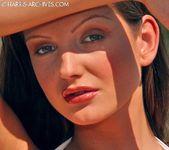 Sandra Shine - White Bikini 7