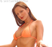 Sandra Shine - Orange Bikini 3