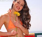 Jassie - Orange Bikini 3