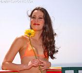 Jassie - Orange Bikini 5