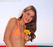 Jassie - Orange Bikini 12