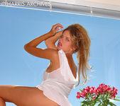 Ashton Gray - White Dress 4