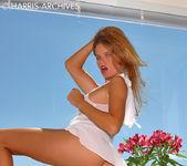 Ashton Gray - White Dress 5