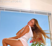 Ashton Gray - White Dress 14
