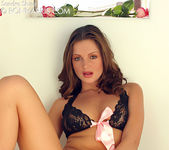 Sandra Shine - Black Lingerie Rose 5