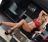 Alexa teases in her red lingerie 5