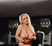 Alexa teases in her red lingerie 8