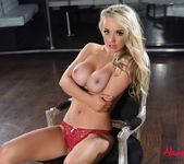 Alexa teases in her red lingerie 13