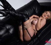 Alexa Grace teasing in her sexy black lingerie 13