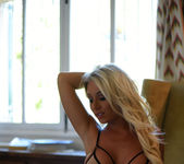 Stacey Robyn teasing in the chair 3