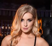 Jess Davies teases in her black bras and skirt 8