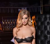 Jess Davies teases in her black bras and skirt 10