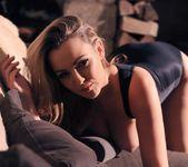 Jodie Gasson teasing in her black bodysuit 14