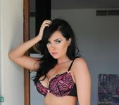 Ann Denise teases in her bras and thong 3